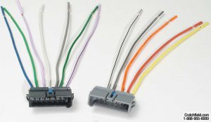Metra 701817 Receiver Wiring Harness Connect a new car