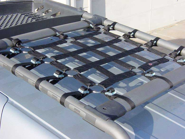 cargo net fits most roof racks
