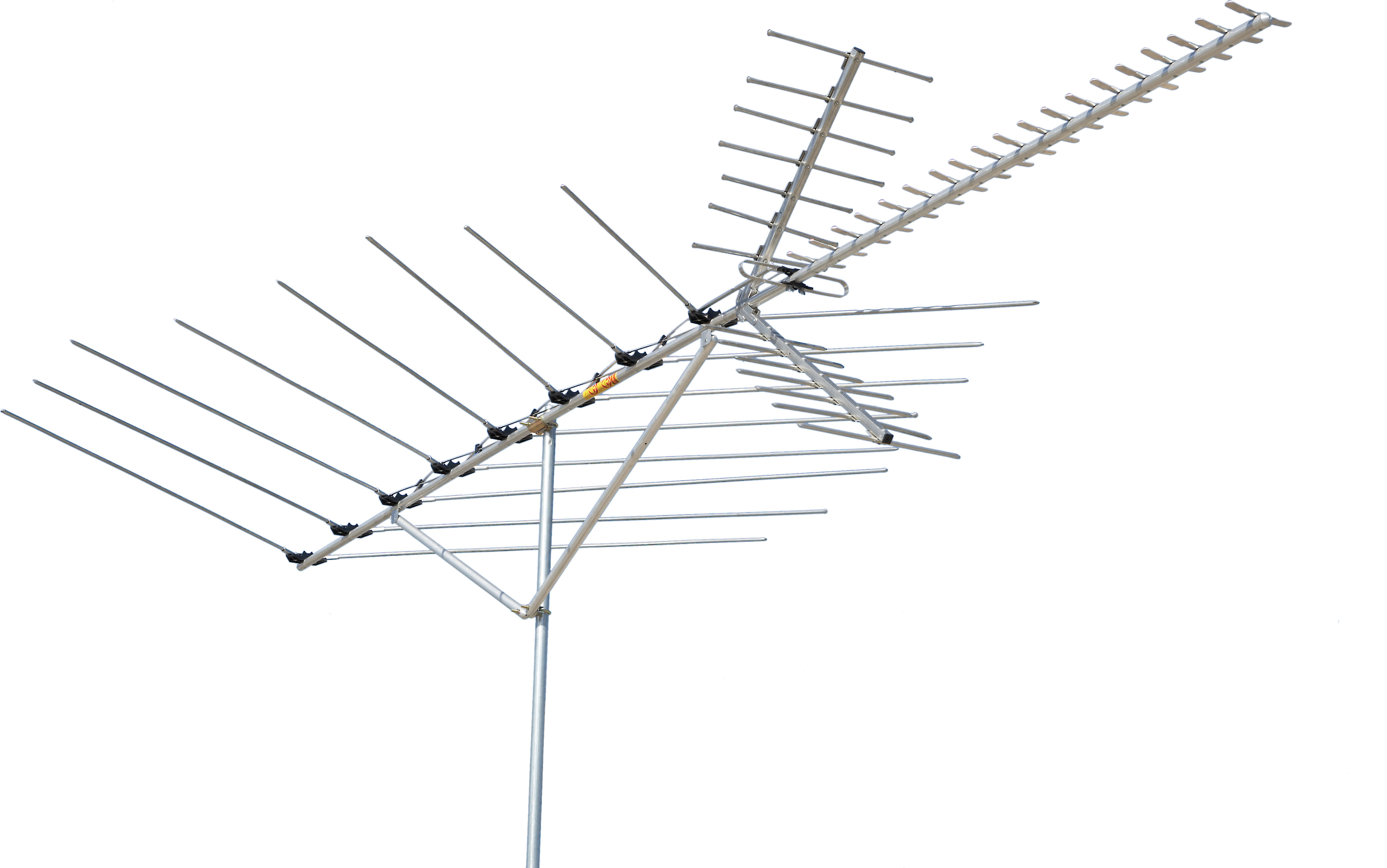 Channel Master Directional Long Range Outdoor Rooftop Tv And Fm Antenna At Crutchfield