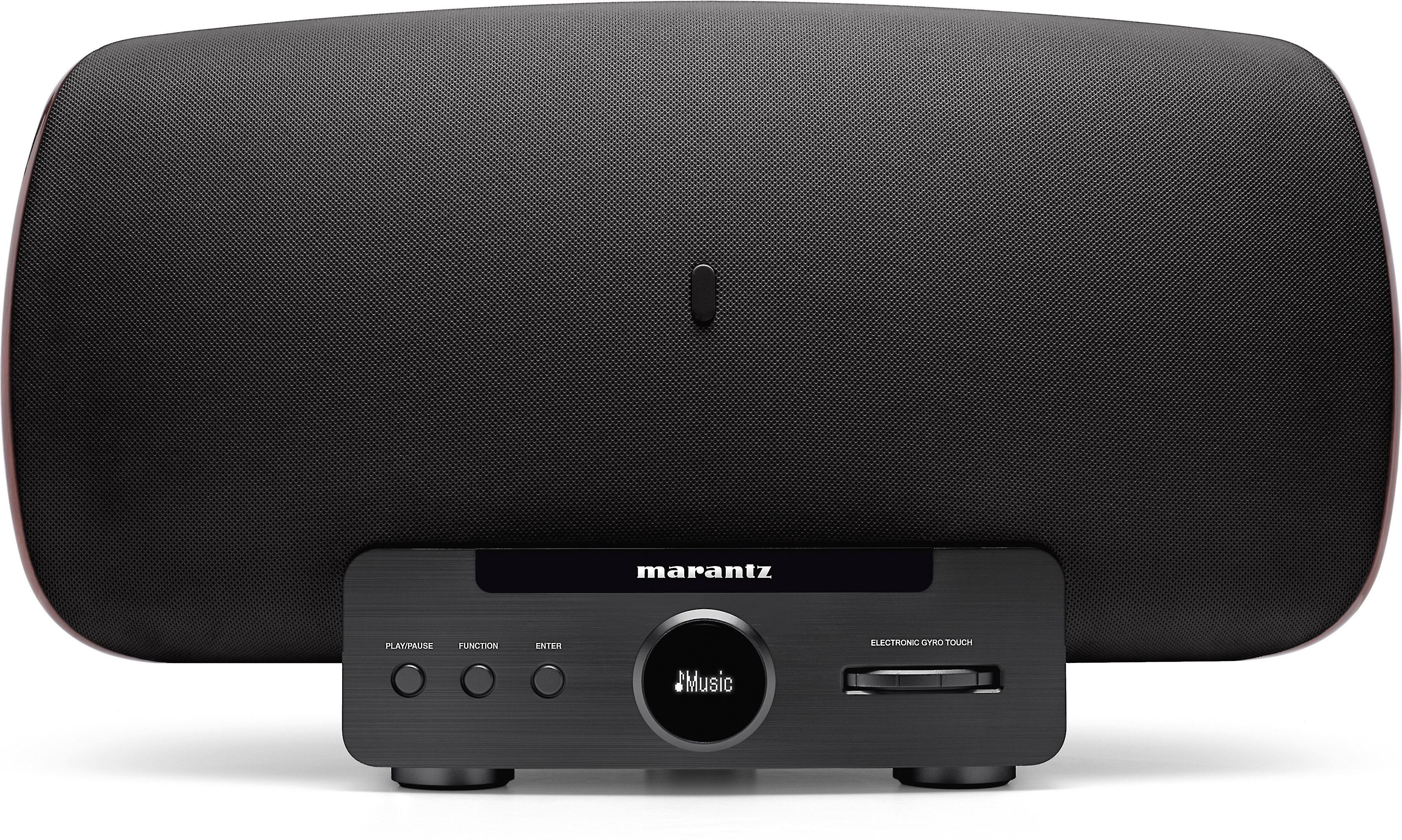 Marantz Consolette (Black) Powered Speaker System With Apple® Airplay® And Ipod®/Iphone®/Ipad® Dock At Crutchfield