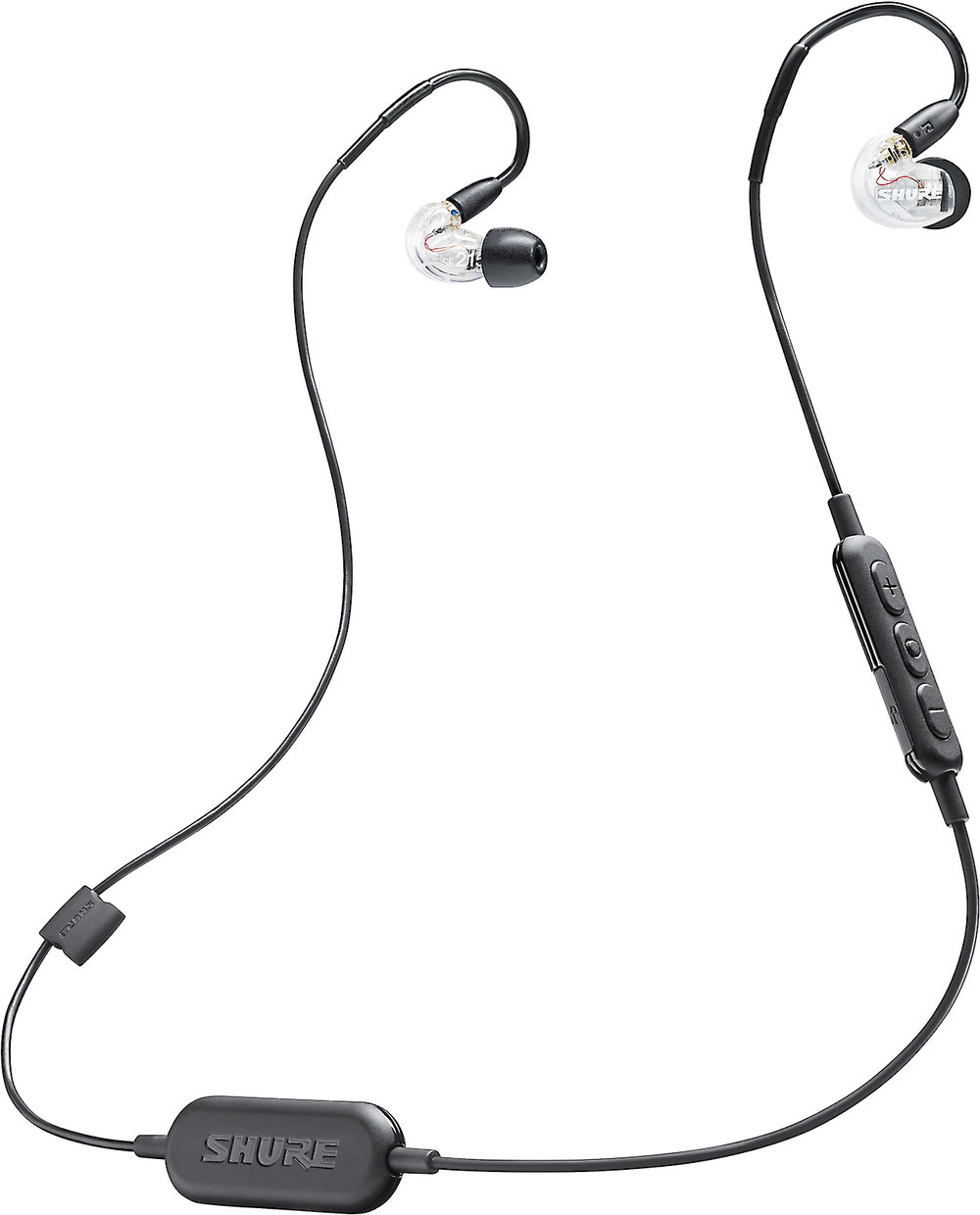 """Shure se215 bt1 clear sound isolatingâ""""¢ earphones with wireless x183215cbt1 f shure se215 bt1 clearhtml shure mic wiring diagram life"""