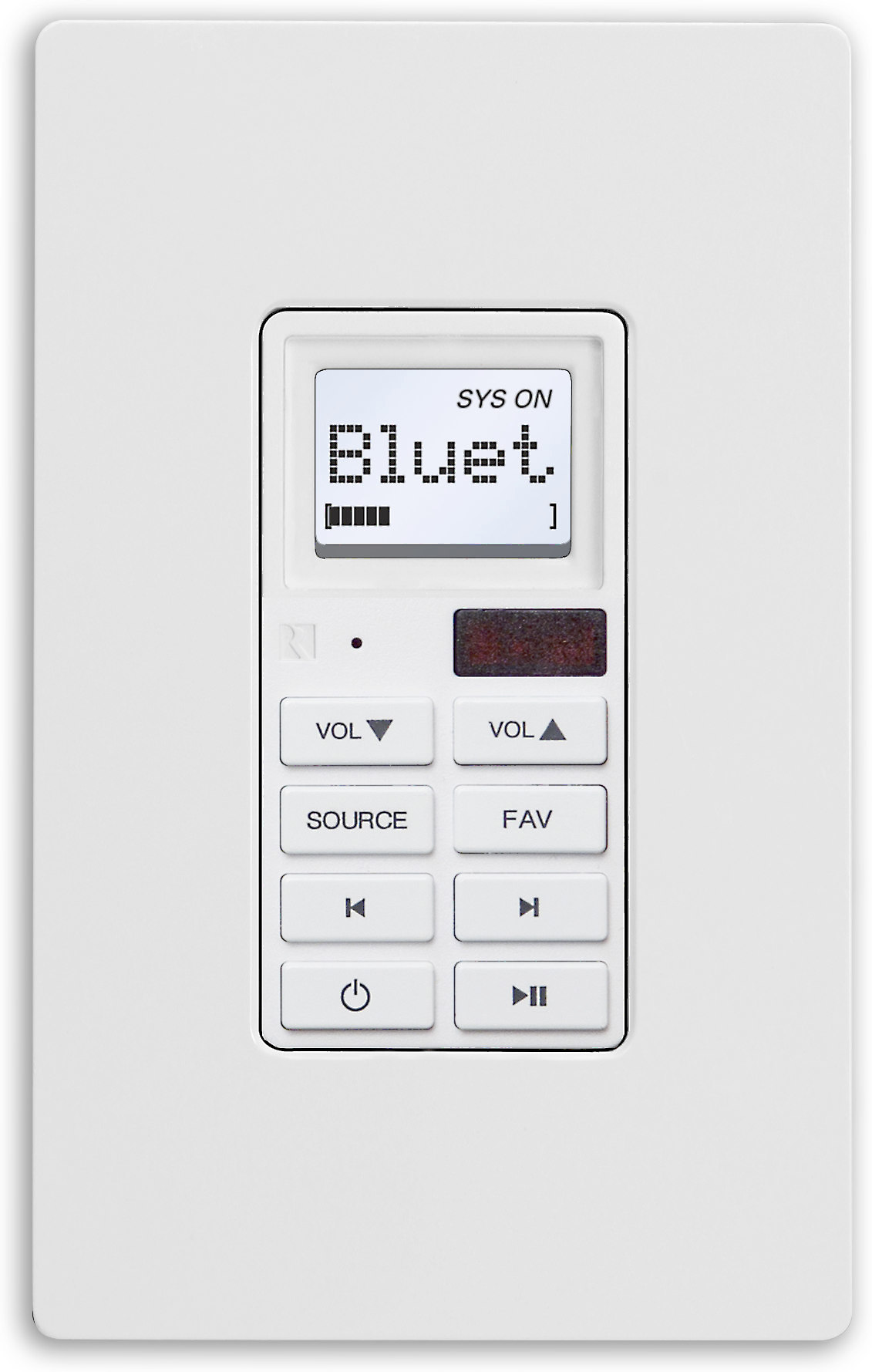 Russound Slk 1 In Wall Keypad For Russound Mca Series Controllers At Crutchfield