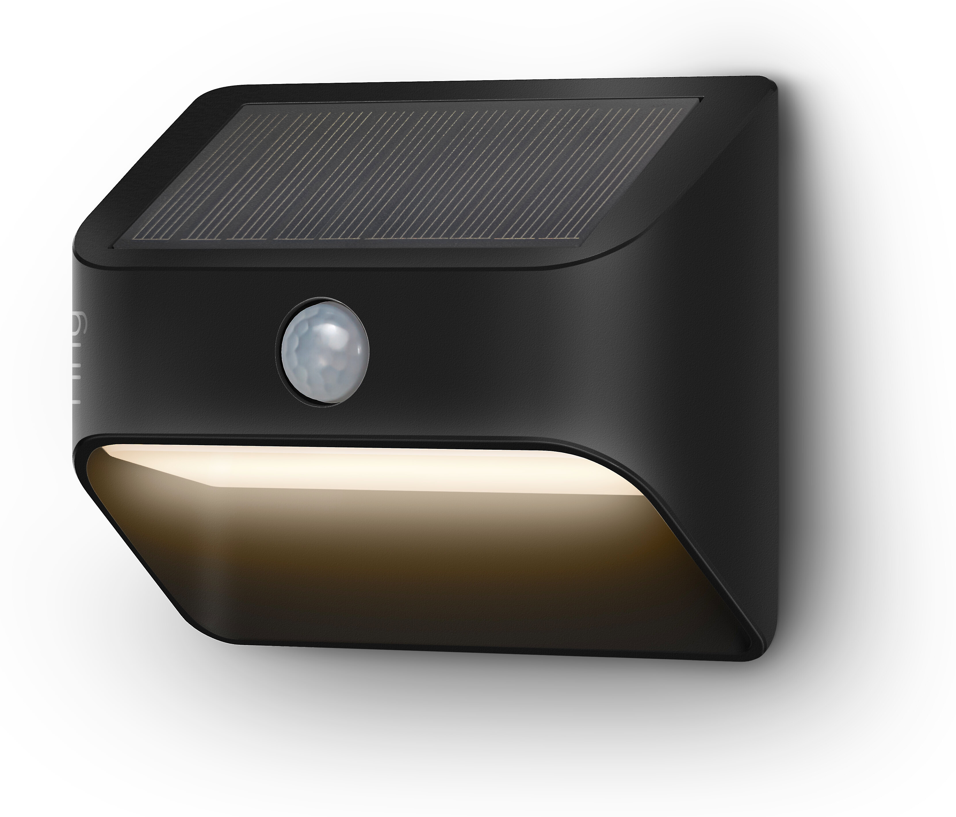ring smart lighting solar steplight black solar powered motion activated smart light for stairs and walkways at crutchfield
