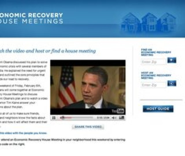 Obama Takes Combo Meal Approach To Save Stimulus Bill