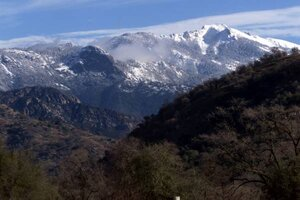 California Mountain Range Missing Several Million Candles On Its Birthday Cake
