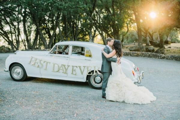 Braut Stellvertreter Hochzeit Auto Dekoration Vorderseite Blume