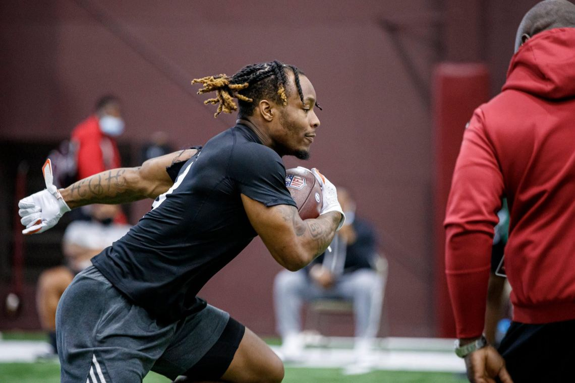 Download Kylin Hill's Windy NFL Draft Journey About More Than ...