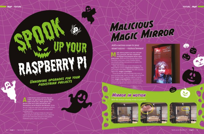 Spook up your Raspberry Pi