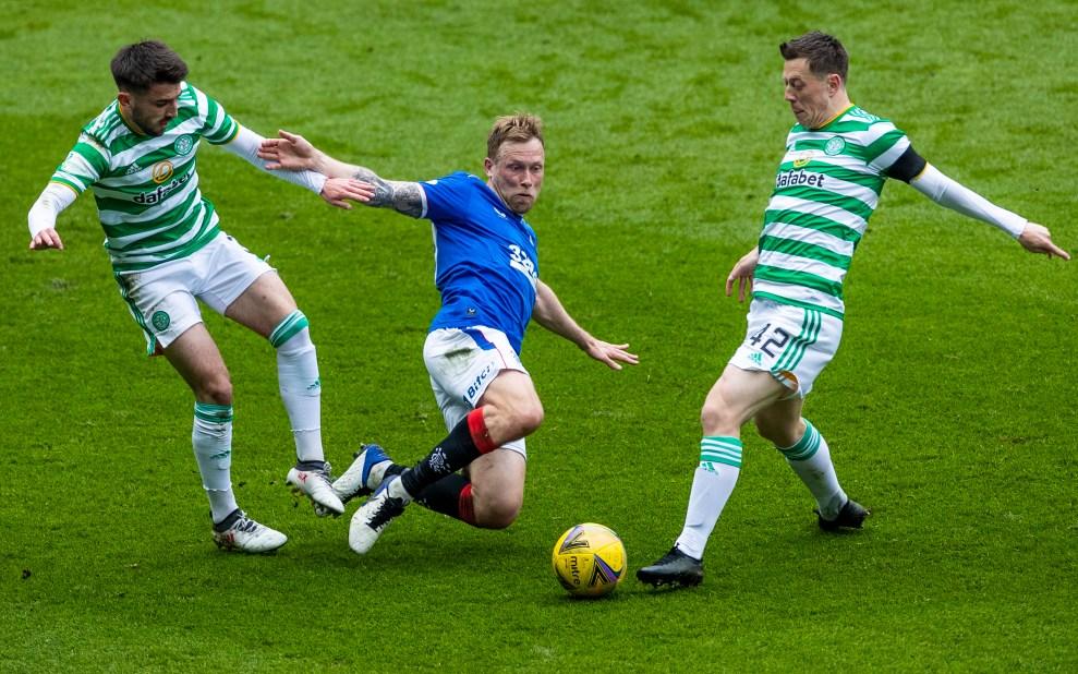 180421 Rangers v Celtic, Arfield 45