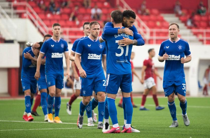 170920 Red Imps v Rangers Goldson Goal Celebration 50