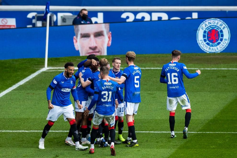 180421 Rangers v Celtic, Kent Goal Celebration 43