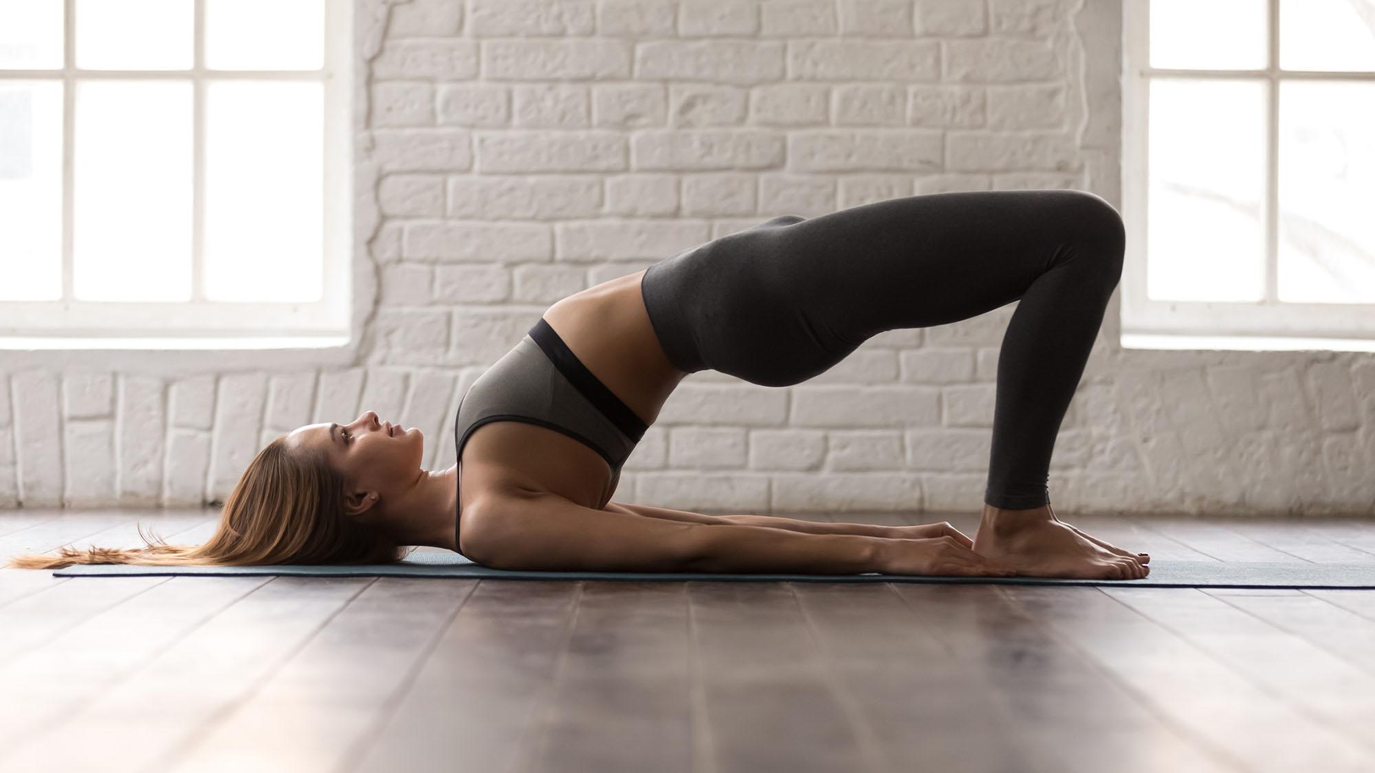 Simple Yoga Pose 3 People