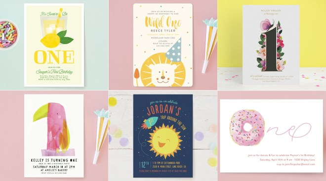 25 first birthday invitations to get