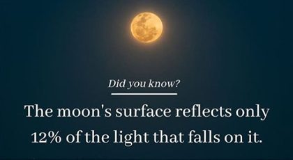 DSC IG promo card moon reflection fact