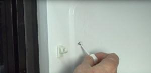 repair arc or burn marks in a microwave