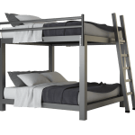 King Over King Bunk Bed Adultbunkbeds Com