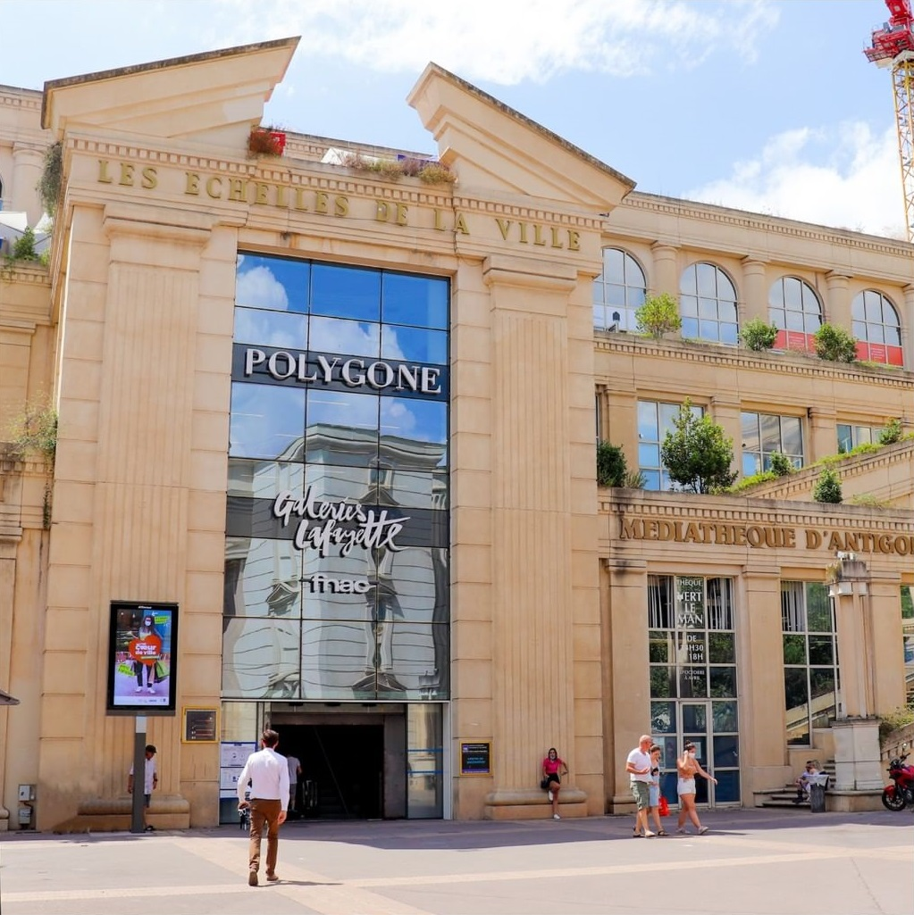 magasin galeries lafayette montpellier