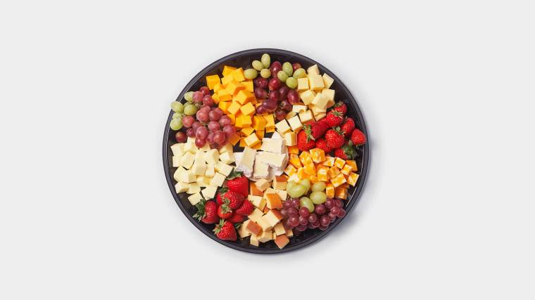 Small Meat, Cheese and Fruit