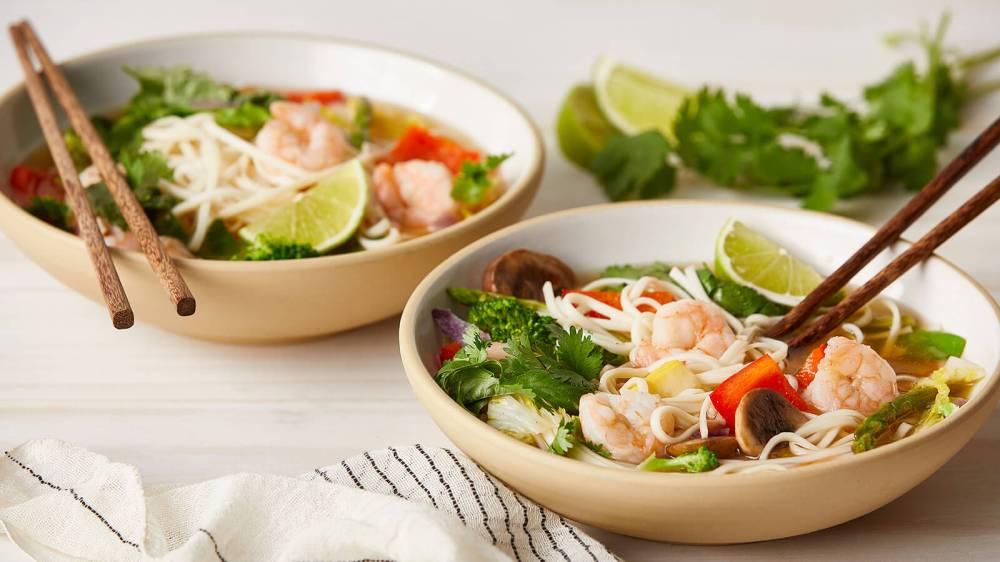 Asian Noodle Bowls - LBM