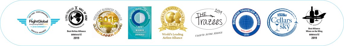 2020-01 oneworld awards plaque
