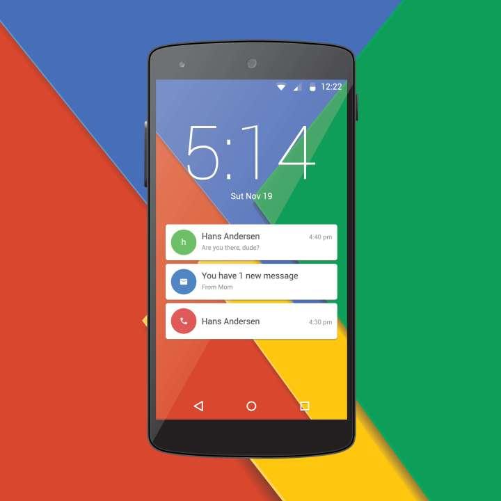 Sistema telefónico Android de Google construido con Java