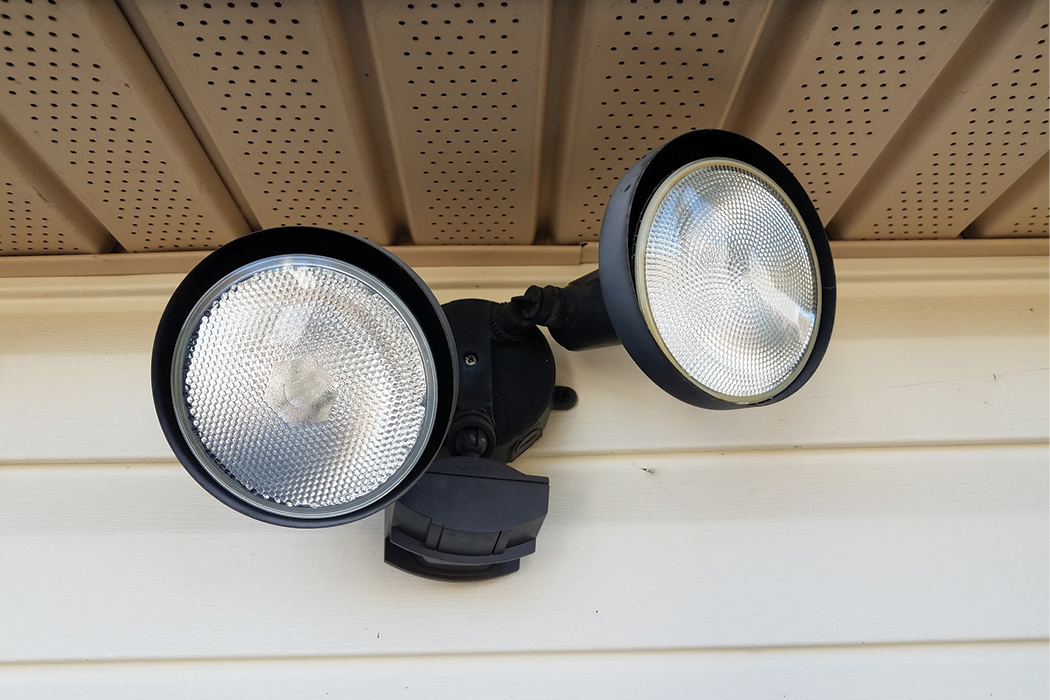 to reset motion detector lights