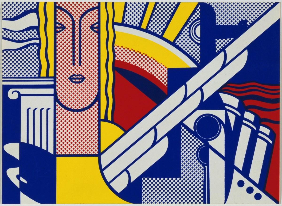 Roy Lichtenstein, Modern Art Poster, 1967