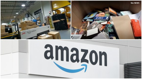 Revealed: Amazon destroying millions of items of unsold stock in UK every year | ITV News