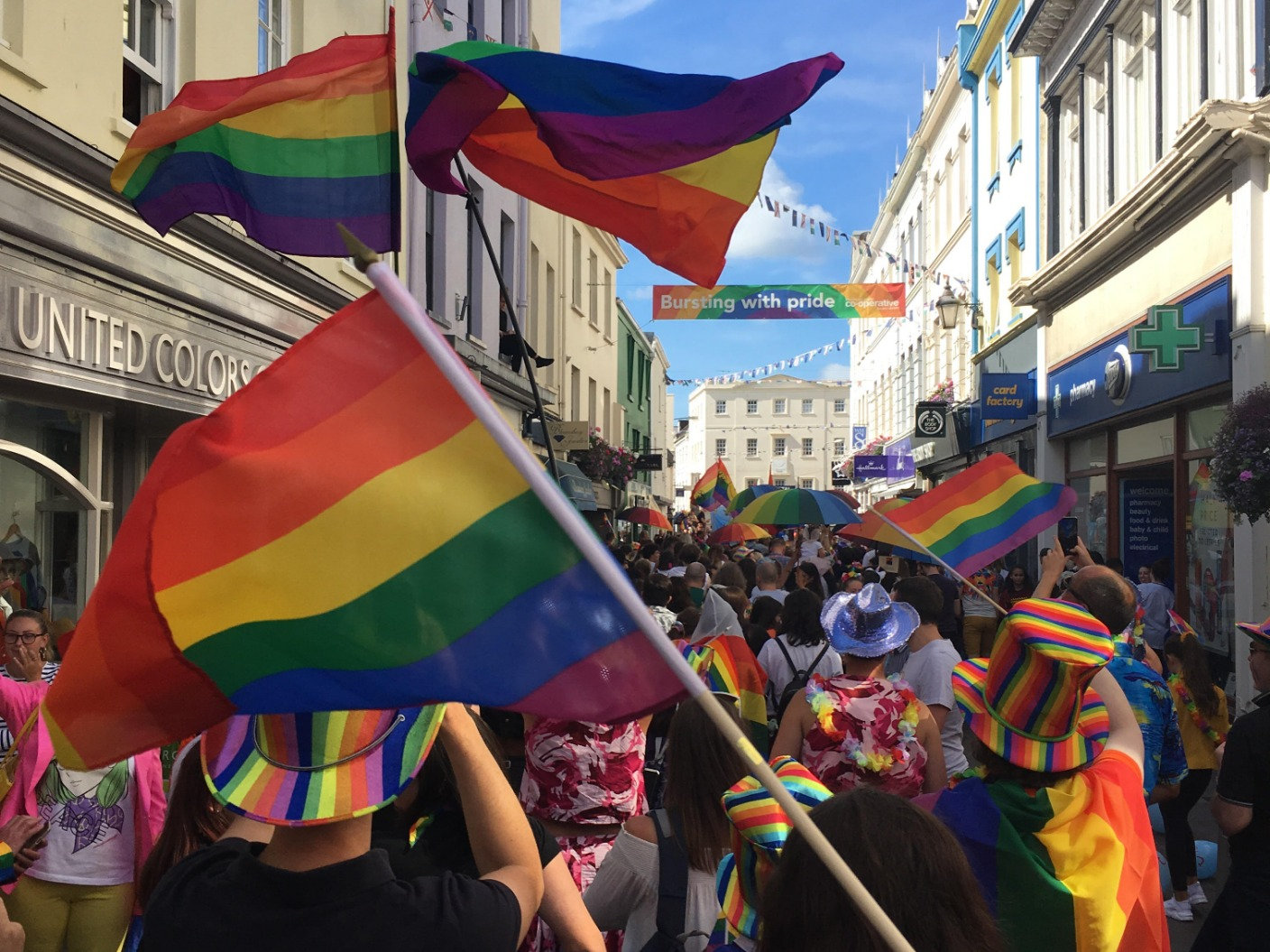 Maybe you would like to learn more about one of these? Date set for Channel Islands Pride 2021 | Channel | ITV News