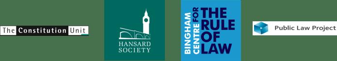 Logos :: HS, Constitution Unit, Bingham Centre & PLP