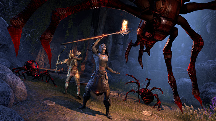 ESO SummersetPreview Spiders