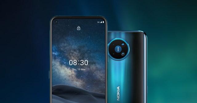 Nokia 8.3 5G smartphone with 64MP quad camera