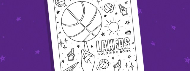 At Home With the Lakers - Kids Activities  The Official Site of