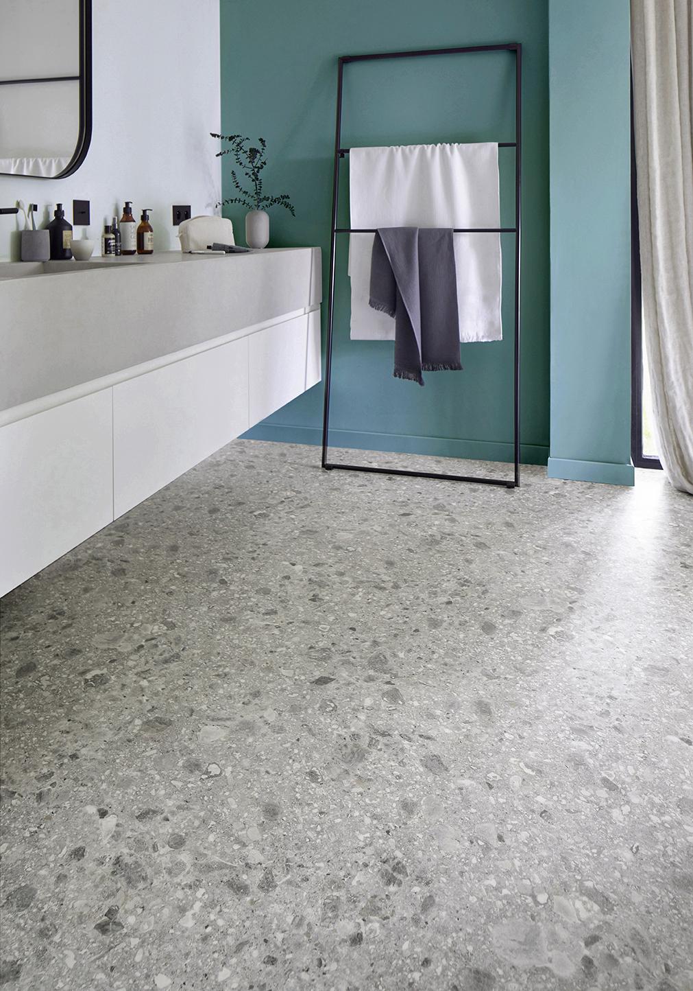 choisir son sol vinyle pour salle de bain saint maclou