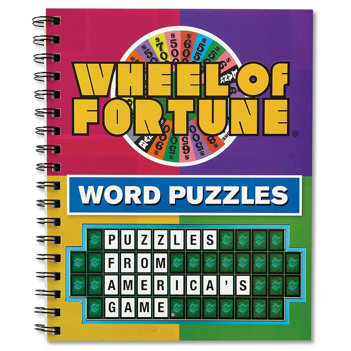 Wheel Of Fortune Word Puzzles Book