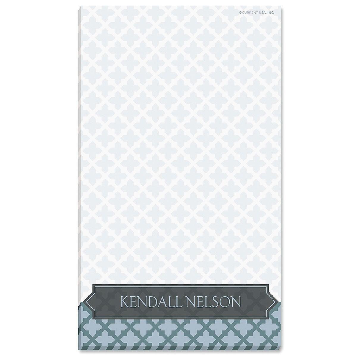 Quatrefoil Personalized Notepads Current Catalog