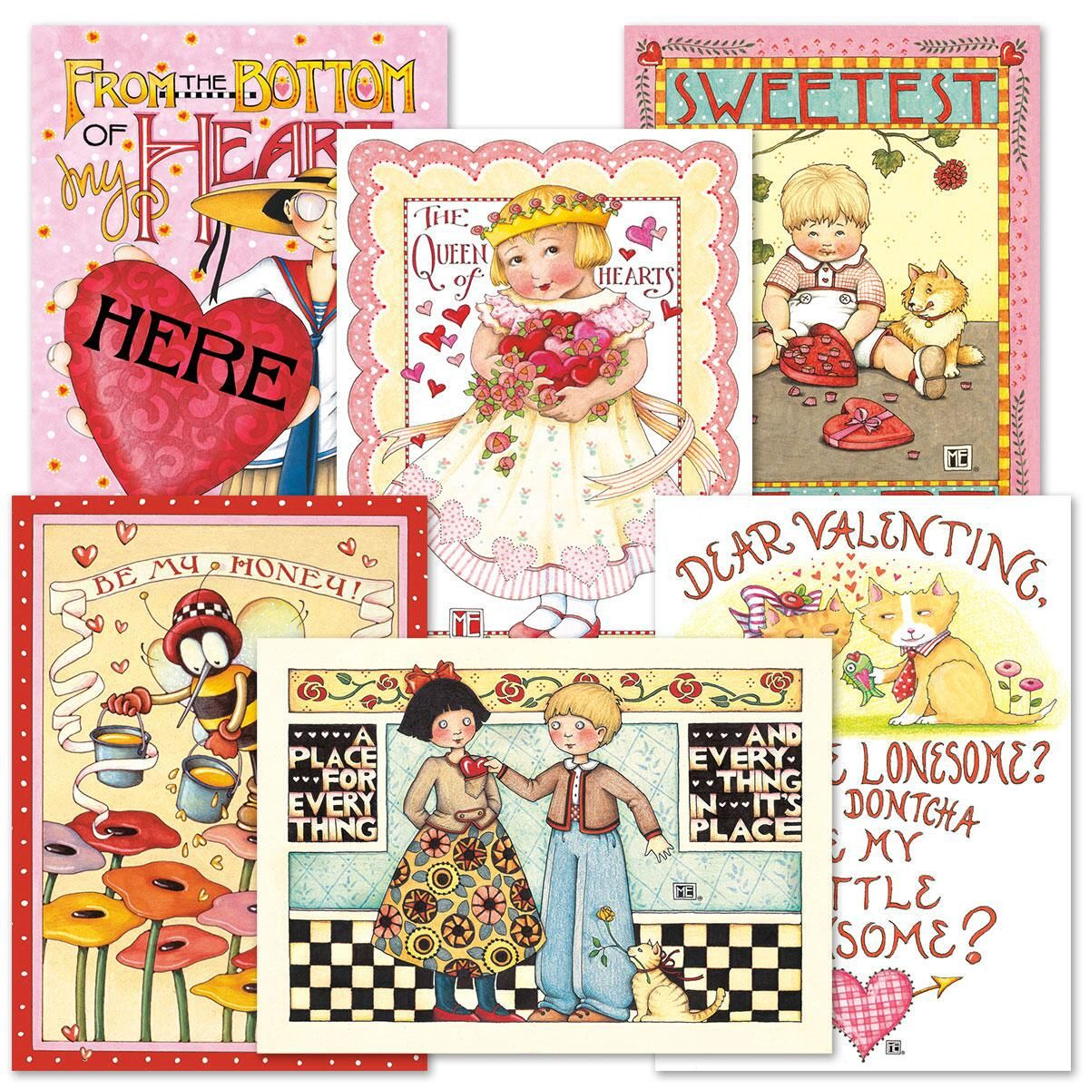 Marys Valentine Cards Current Catalog