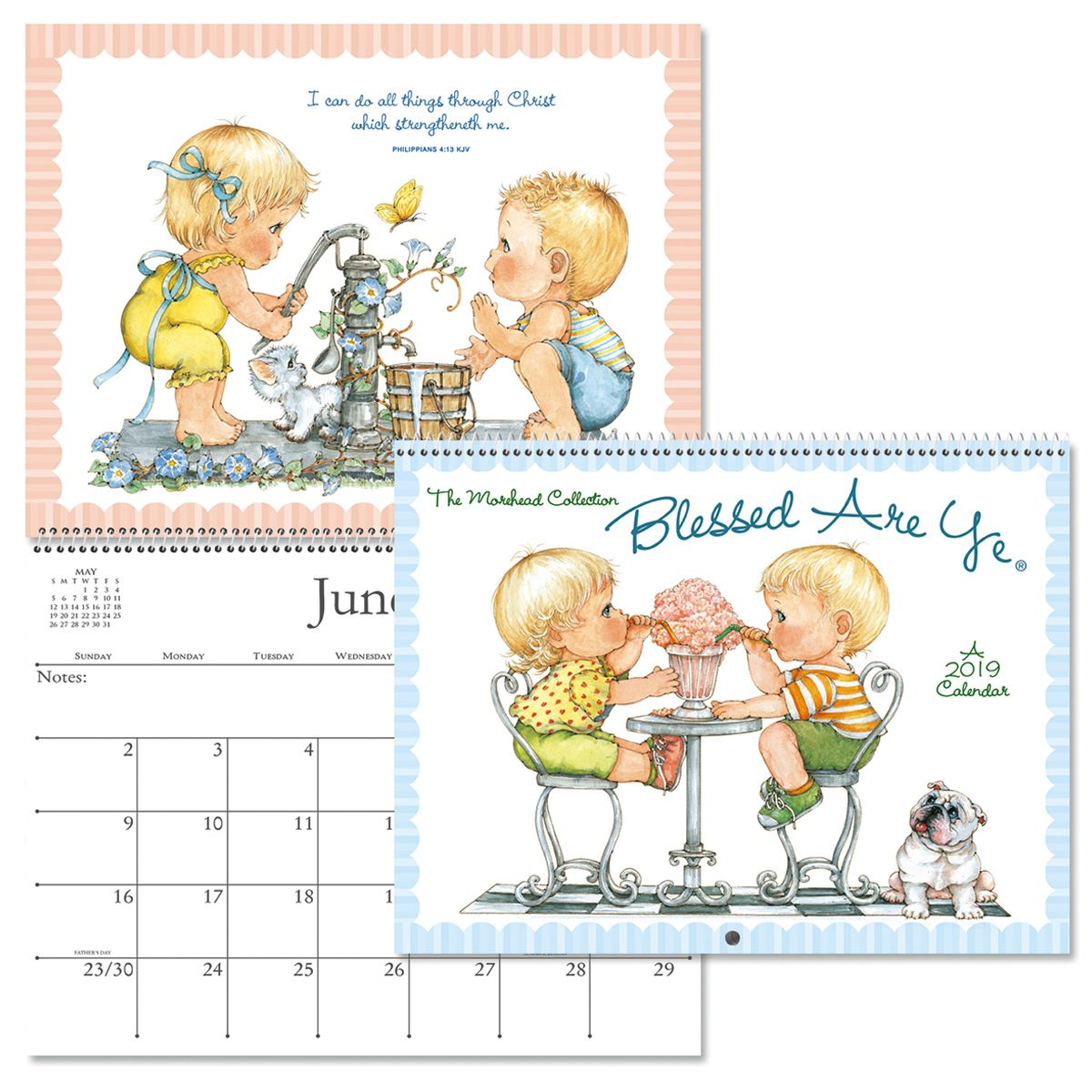 2019 Blessed Are Ye Wall Calendar Current Catalog
