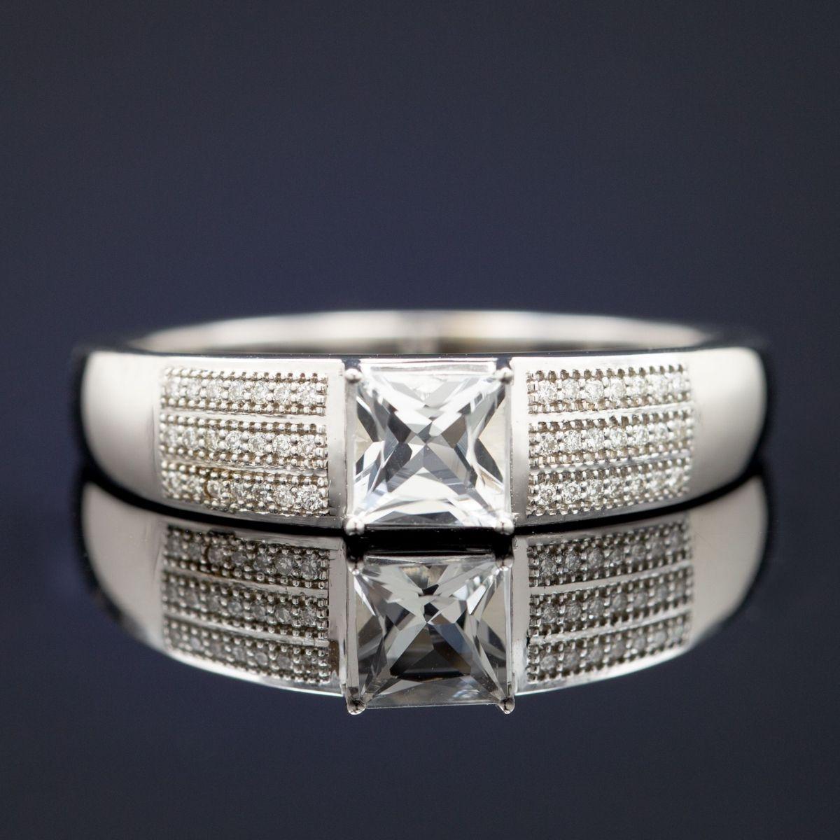 Cozy Rose Gold Morganite Mens Wedding Band Vidar Jewelry