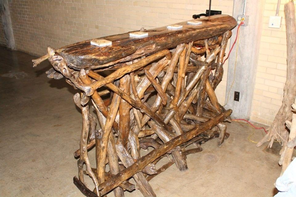 Handmade Driftwood Bar By Ohio River Furnishings And Decor