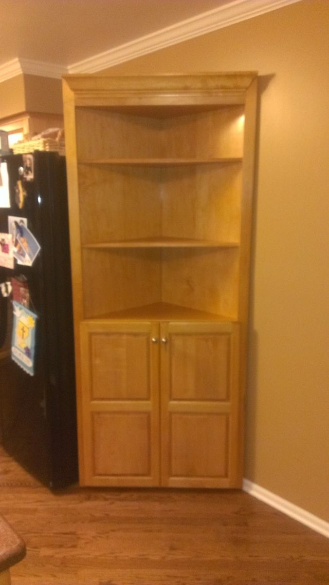 Custom Made Corner Cabinet By Fearons Fine Woodworking