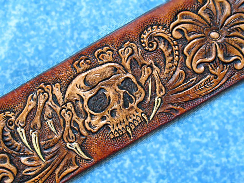 Buy A Custom Hand Tooled Hand Carved Sheridan Western