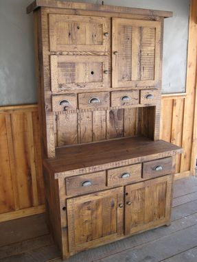 Handmade Reclaimed Chestnut HutchesCupboards By Unique