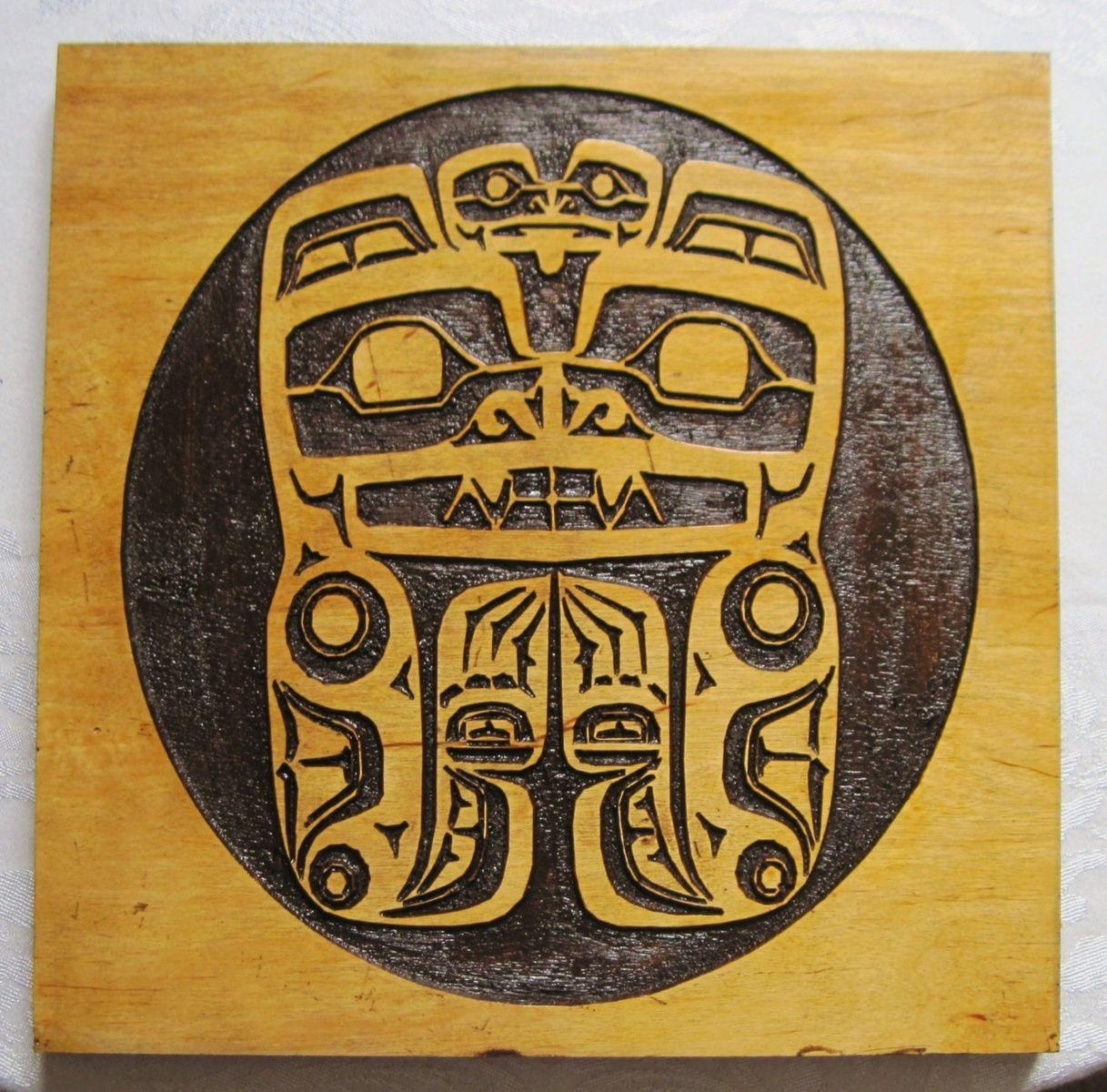 Custom Made Haida Tribal Native American Art
