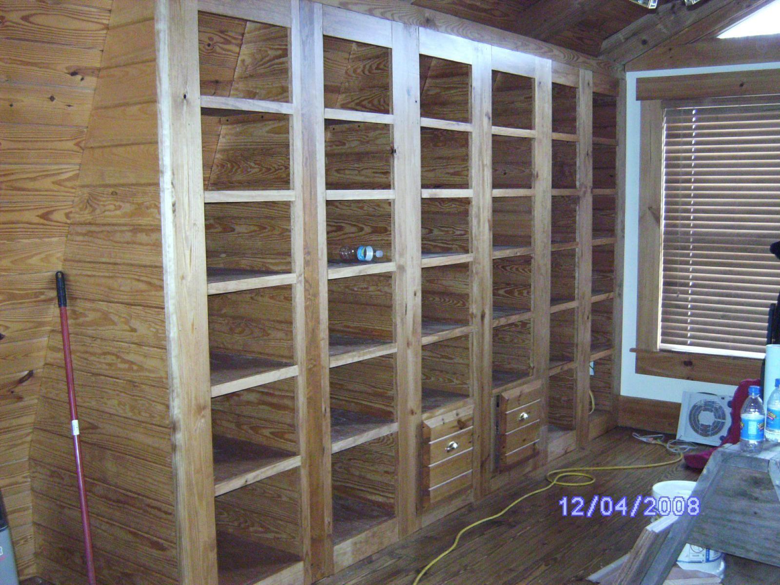 Wooden Cabinets Vintage Built In Filing Cabinets