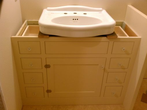 Bathroom Sinks In Cabinet To Fit Around Pedestal Sink 5818
