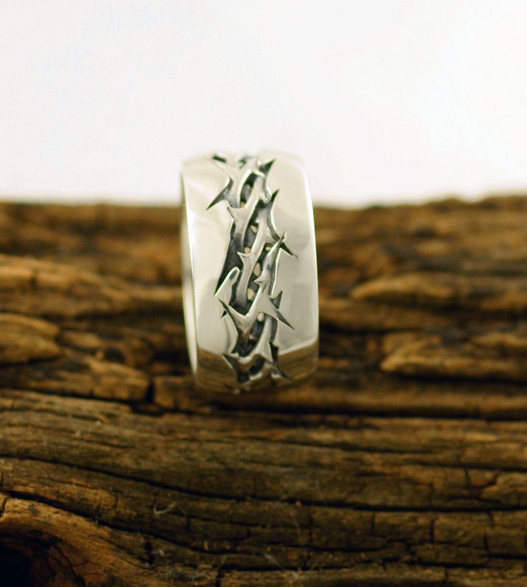 Handmade Crown Of Thorns Ring By Dhexed