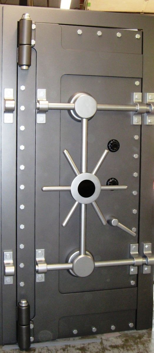 Hand Made Bank Vault Door By Impressive Prototypes