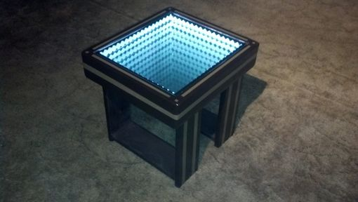 Buy A Custom Made Infinity Mirror Coffee Table With Led