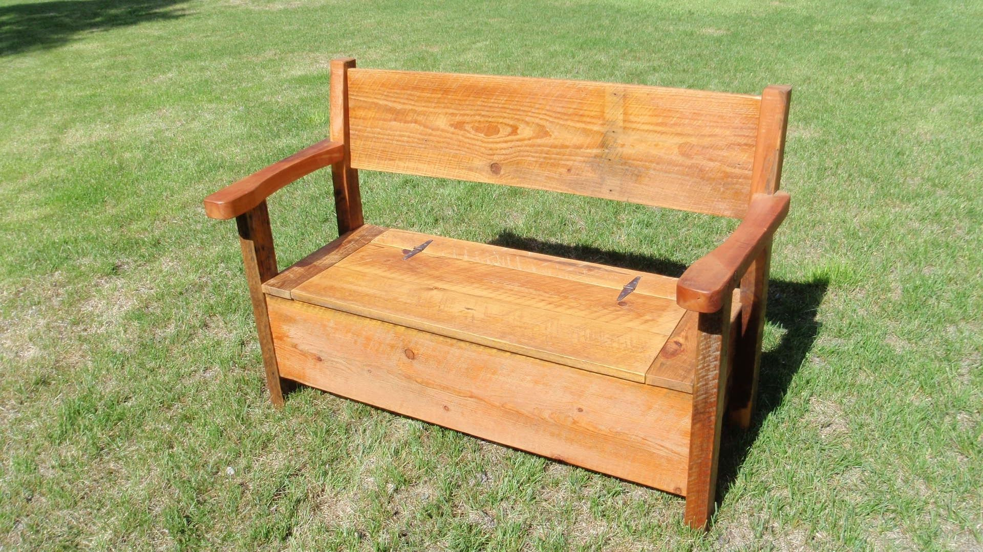 Custom Barnwood Deacons Bench By Son Ranch Furnishings